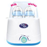 Baby Safe Twin Bottle Botol Warmer & Sterilizer LB 216 Penghangat Susu