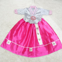 hanbok anak baju adat tradisional korea costume kostum hambok feb 002
