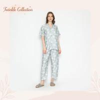 Baju Tidur Piyama Organic Silk GREET T-095 PPK - Pink