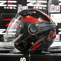 HELM ZEUS ZS-610 Black / 0014 Red