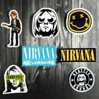 Stiker Pack Band Nirvana [7 Pcs]