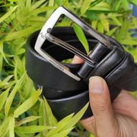 Ikat Pinggang Sabuk Kulit Resleting 150 Cm Bahan Kulit Sapi Premium