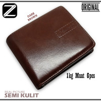 Z.A Dompet Pria New Style Z.A-207 Bahan Semi Kulit Premium Bestseller