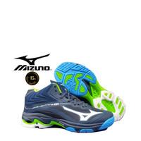 Sepatu Volly Pria Mizuno Wlz 6 Sepatu olahraga badminton mizuno Hitam