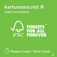 Kartu Nama Ramah Lingkungan / FSC® / Recycle