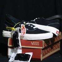 Sepatu Vans Authentic Import Premium Quality Termurah - Hitam Putih, 37