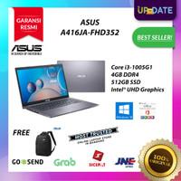 LAPTOP ASUS A416JA - Core i3-1005G1 4GB 512GB SSD WIN10 OHS 2019 14HD