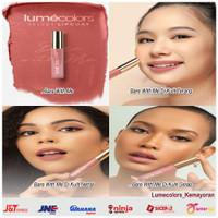 Lipstik Lumecolors Velvet Lipcoat Nano Korea 3ml Matte Bibir Kissproof - Bare With Me