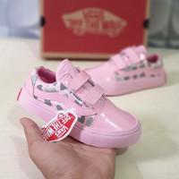 sepatu sneakers anak perempuan 2 sampai 9 tahun vans kids oldskool