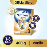Nutrilon Royal 3 Susu Pertumbuhan 1-3 Thn Vanila 400gr