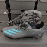 Sepatu Bola Adidas X 1 Ghosted Black blue Fg - sepatu soccer adidas
