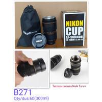 B271 Gelas Mug Lensa Kamera Nikon Cup AF 24-70mm -Lens / Termos Lensa