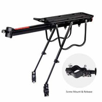 Rak Belakang Sepeda Bicycle Luggage Carrier Quick Release Hitam