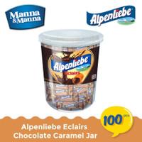 Parsel Ramadan Permen Alpenliebe Eclairs Chocolate Caramel 100 Pcs