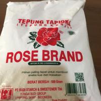 tepung tapioka/tepung kanji rose brand 500 gram