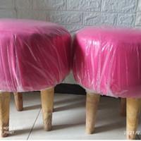 kursi stool bulat bijian/satuan