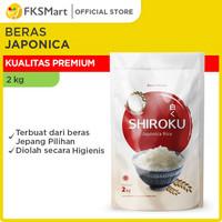 Shiroku Beras Japonica 2 Kg