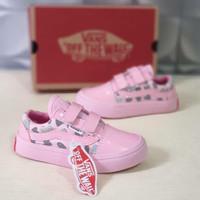 Sepatu Anak Perempuan Vans Old Skool Pink Peach Murah