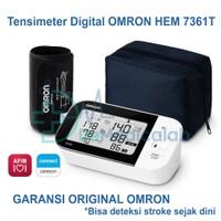 Tensimeter Digital Omron HEM 7361T Tensi untuk deteksi stroke dini