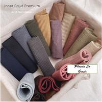 Ciput Bandana Inner Rajut Polos Premium Knit Daleman Hijab Jilbab