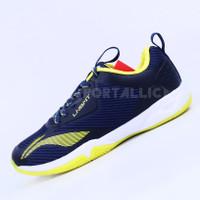 Sepatu Badminton Li-Ning / LiNing AYTQ085 Cloud Ace G8 Navy Yellow