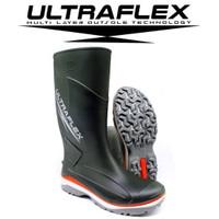 Sepatu UltraFlex Safety Boot Karet Asli AP Boots Karet Motor Outdoor