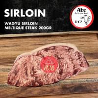 Daging Sapi Wagyu Sirloin Meltik Striploin Meltique Beef Steak 200gr