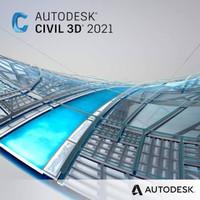 Autodesk Civil 3d 2021 (flashdisk 16gb)