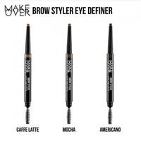 Make Over Brow Styler Eye Definer - Pensil Alis Putar