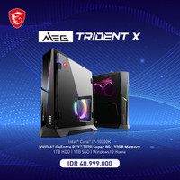 MSI MEG TRIDENT X 10th 217ID GAMING DESKTOP PC
