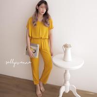 Stellaa Set-Baju Setelan Wanita / Setelan / Fashion Wanita - Kuning