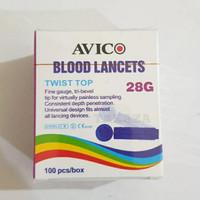 Jarum Lancet Avico Blood Lancet 28G Easy Touch Nesco GlucoDr Autochek