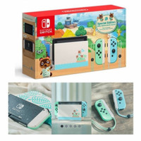 Nintendo Switch Console V2 Animal Crossing Limited Edition