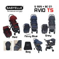 Makassar Babyelle Avio TS Stroller Bayi 959 + Car Seat Travel System