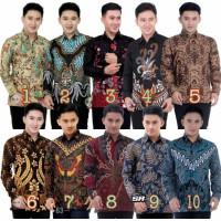 New Baju Batik Pria Lengan Panjang | Batik Kantor - BATIK Modern