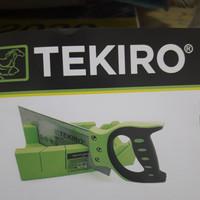 Tekiro back saw set 12 gergaji figura for soft wood