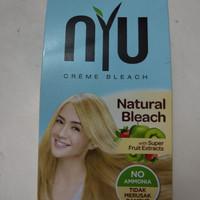 Semir Rambut NYU Bleaching Natural Bleach No Ammonia