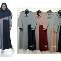 Rabbani Exo Lazira Gamis Baju Muslim Wanita Dewasa