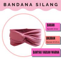 Headband Criss Cross / Bandana Bayi Silang / Bando Bayi / Bando Anak