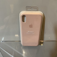 Casing Apple iPhone X - Official Silicone Case Pink Sand - Original