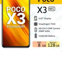 POCO X3 NFC Xiami 8/128 garansi resmi - Abu-abu