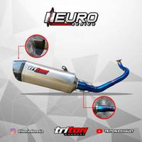 Knalpot Racing Nmax Aerox Pcx Adv Original TRITON NEURO SERIES