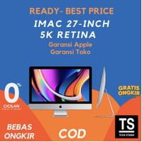 "[RESMI] Apple iMac 2020 MXWT2 5K 27"" inch 256GB 3.1Ghz 6C i5 8GB"