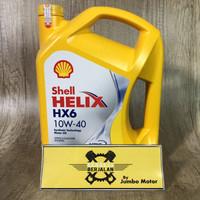 Oli Mesin Shell Helix HX6 10W-40 4 Liter - Oli Mobil Bensin