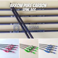 Promo Anak Panah Arrow Musen Carbon 6mm, MSTJ-42BS Original