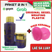LAE SA LUAY BPOM PAKET 2 IN 1 HAIR PERFECTION / SHAMPOO / MASKER
