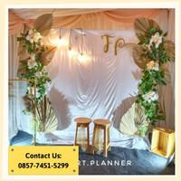 Backdrop Lamaran/ Dekorasi Khitanan/Dekorasi Pernikahan/Photobooth 27