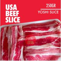 Daging Sapi Lapis USA Sliced Beef / Yoshinoya Beef pack 250gr