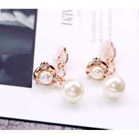 Anting Jepit Tanpa Tindik Ear Clip No Needle Earrings Murah Bagus 0025