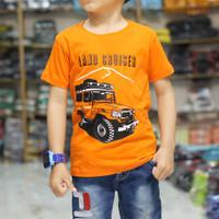 Baju Kaos Anak laki laki Karakter Gambar Mobil LAND CRUISER JEP Keren